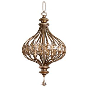 Uttermost Lighting Fixtures Sabina 3 Light Pendant