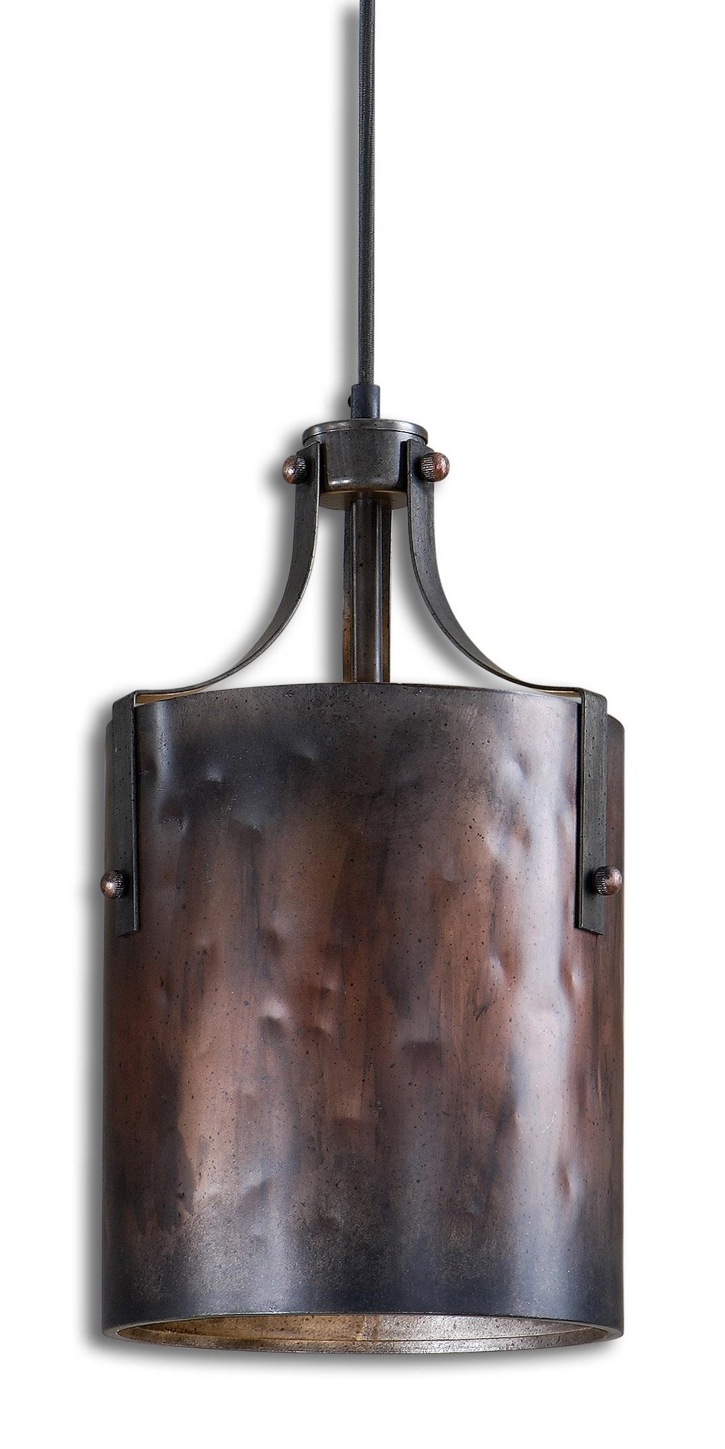Akron 1 Light Copper Mini Pendant