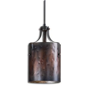 Uttermost Lighting Fixtures Akron 1 Light Copper Mini Pendant