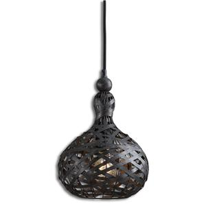 Uttermost Lighting Fixtures Alita Industrial 1 Light Mini Pendant
