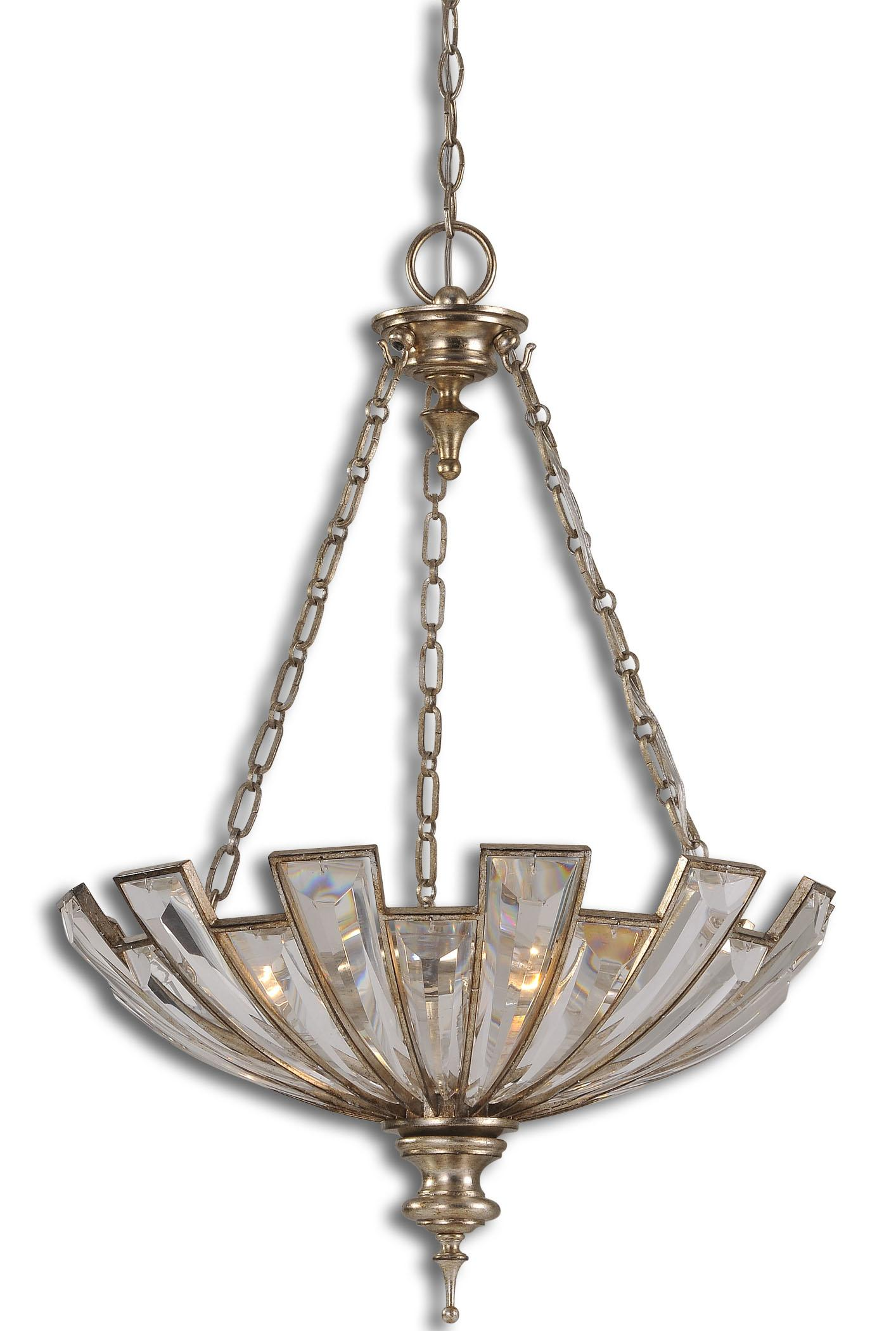 Uttermost Lighting Fixtures Vicentina 3 Light Pendant - Item Number: 21989