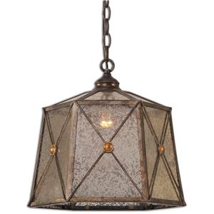 Uttermost Lighting Fixtures Basiliano 1 Light Pendant