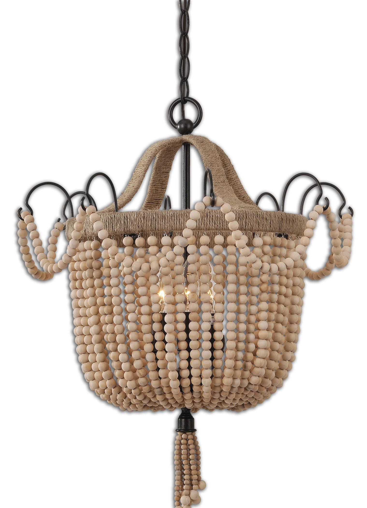 Uttermost Lighting Fixtures Civenna 3 Light Pendant - Item Number: 21992