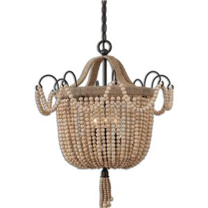 Uttermost Lighting Fixtures Civenna 3 Light Pendant