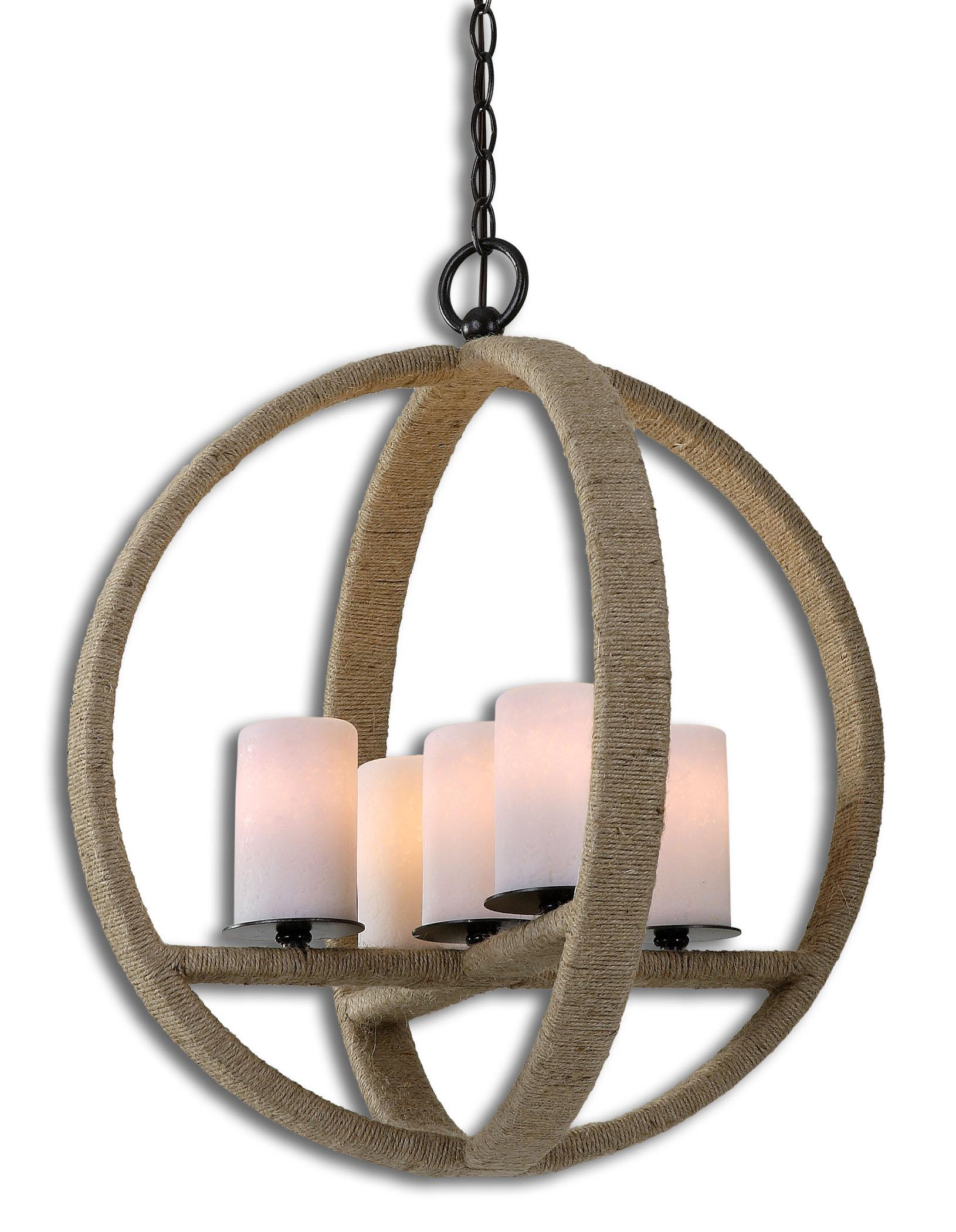Uttermost Lighting Fixtures Gironico Round 5 Light Pendant - Item Number: 21997