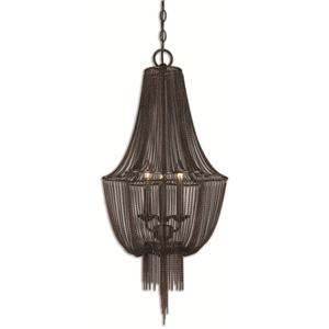 Uttermost Lighting Fixtures Lezzeno 3 Chandelier