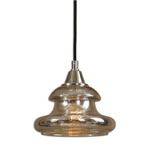 Uttermost Lighting Fixtures Arborea Glass Mini Pendant