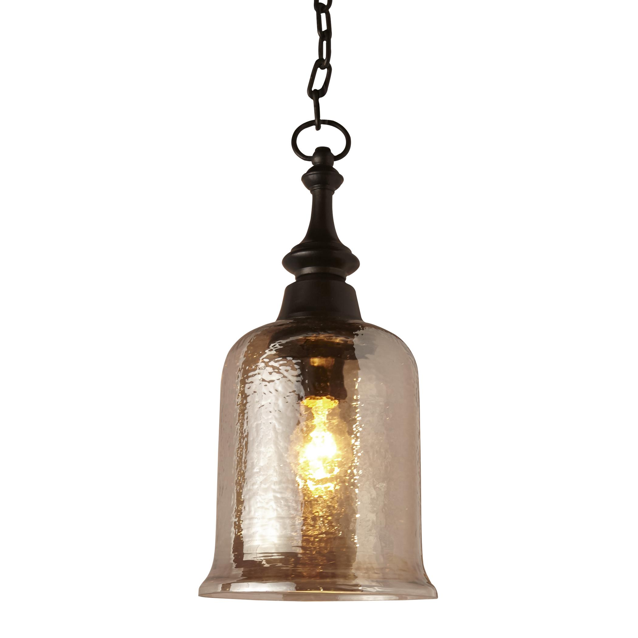 Uttermost Lighting Fixtures Lustre 1 Light Mini Pendant - Item Number: 22013