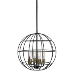 Uttermost Lighting Fixtures Uttermost Palla 4 Light Sphere Pendant