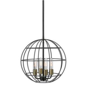 Uttermost Lighting Fixtures Uttermost Palla 4 Light Sphere Pendant