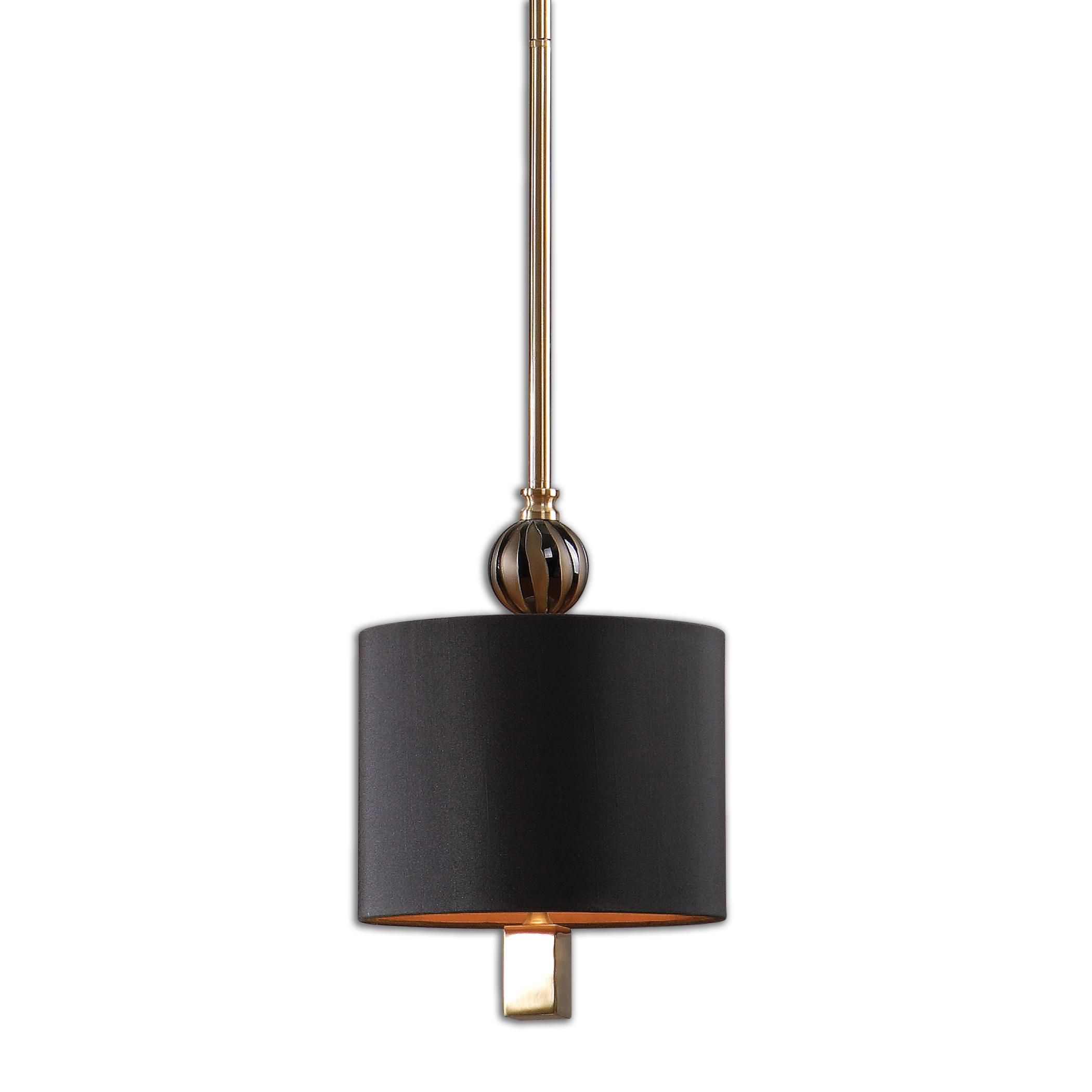Uttermost Lighting Fixtures Uttermost Amur 1 Light Modern Mini Pendant - Item Number: 22032