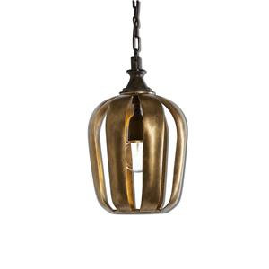 Uttermost Lighting Fixtures Zucca 1 Light Antique Gold Mini Pendant