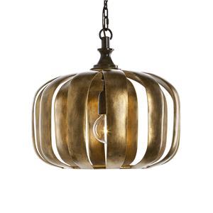 Uttermost Lighting Fixtures Zucca 1 Light Antique Gold Pendant