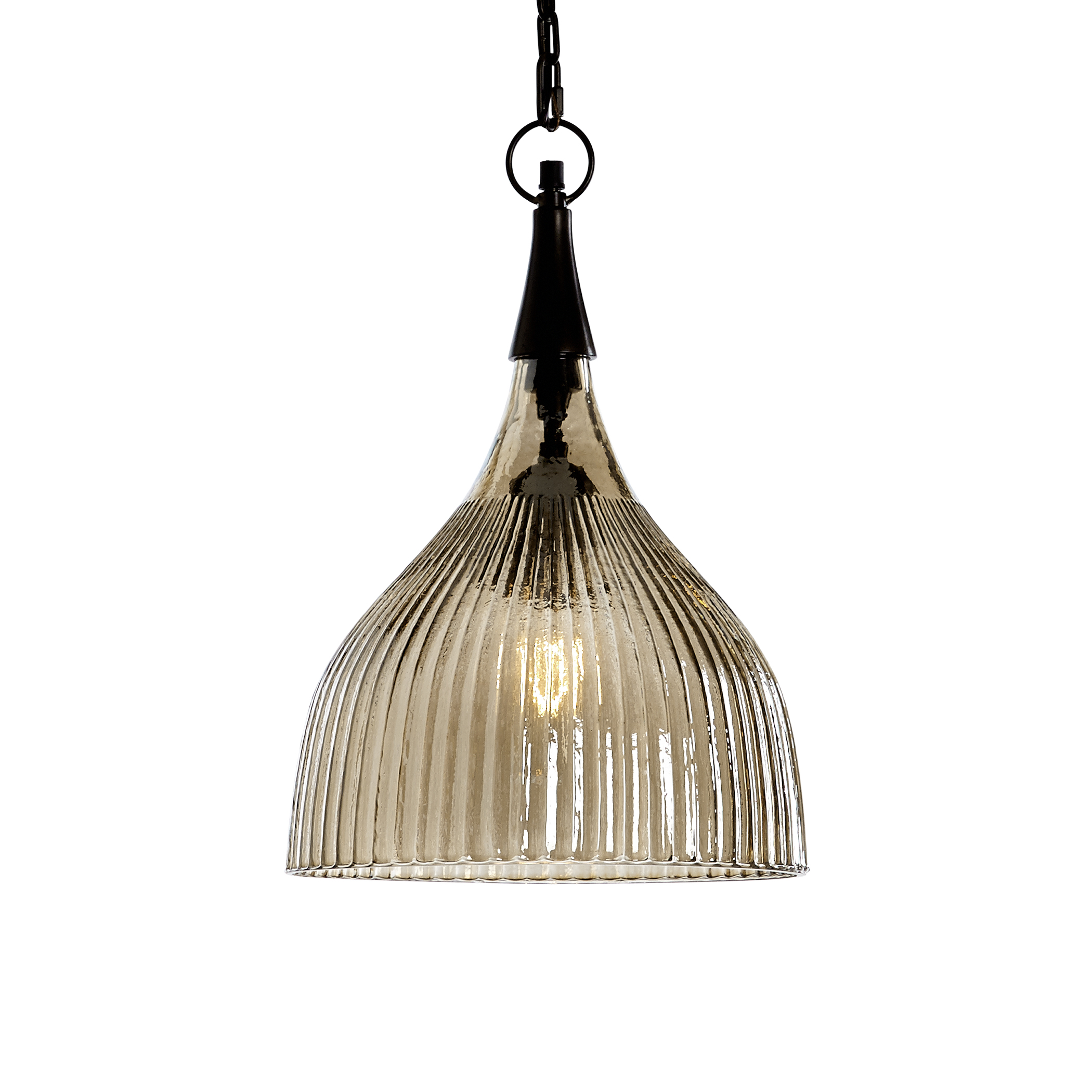 Uttermost Lighting Fixtures Nuvolo 1 Light Glass Mini Pendant - Item Number: 22036