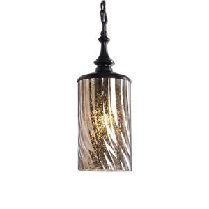 Uttermost Lighting Fixtures Trabes 1 Light Glass Mini Pendant