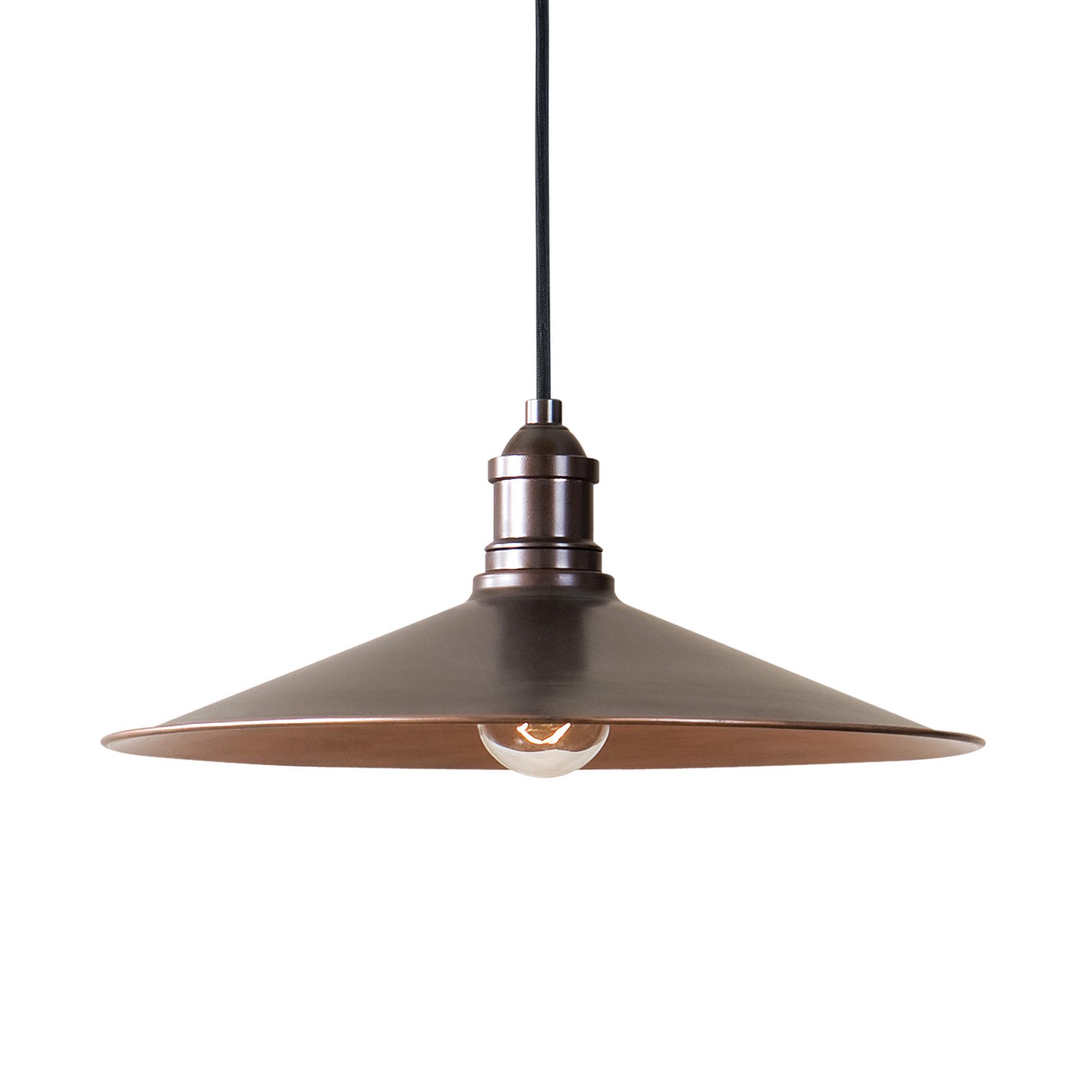 Uttermost Lighting Fixtures Barnstead 1 Light Copper Pendant - Item Number: 22051