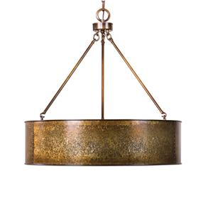 Uttermost Lighting Fixtures Wolcott 5 Light Golden Pendant