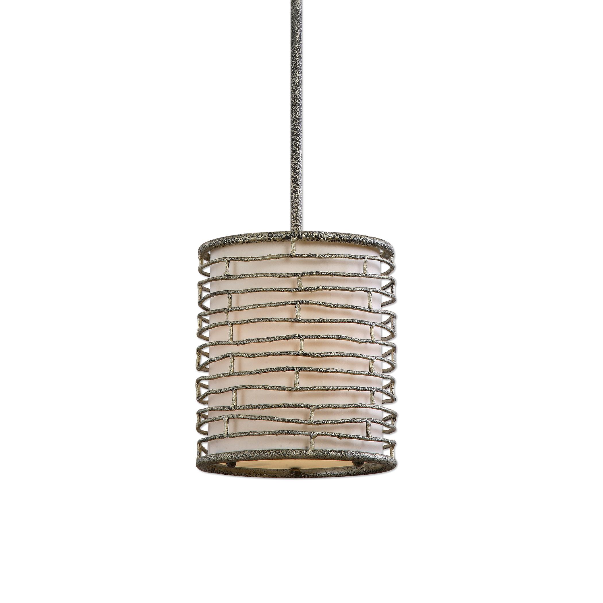Uttermost Lighting Fixtures Smida 1 Light Rustic Mini Pendant - Item Number: 22072