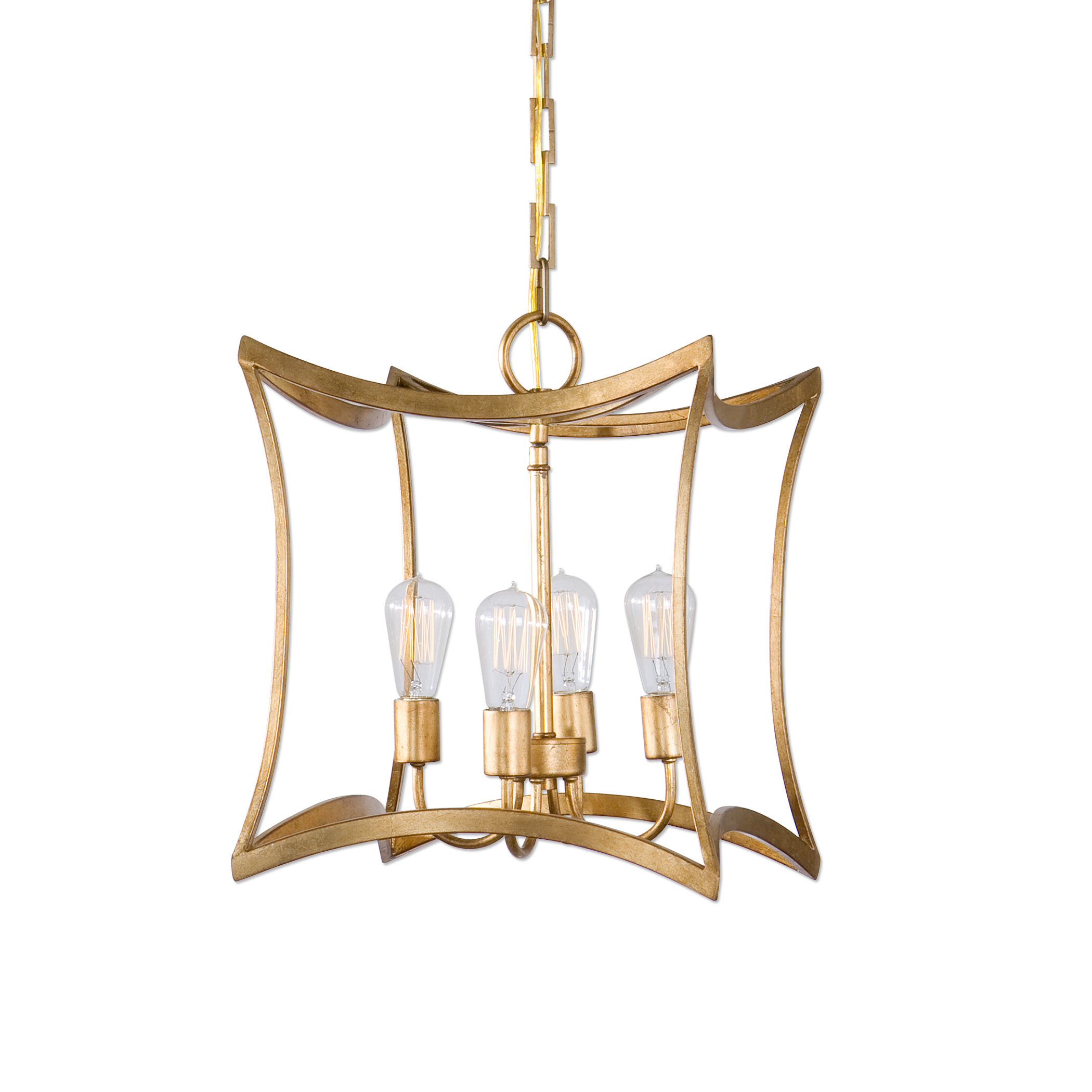 Uttermost Lighting Fixtures Dore 4 Light Lantern Pendant - Item Number: 22074