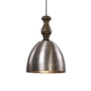 Uttermost Lighting Fixtures Luna 1 Light Aluminum Mini Pendant