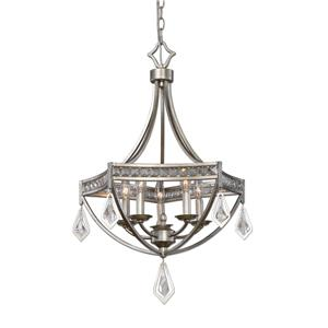 Uttermost Lighting Fixtures Tamworth Modern 5 Light Pendant