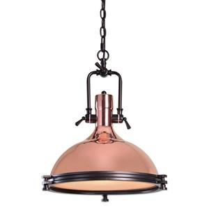 Uttermost Lighting Fixtures Bingham 1 Light Industrial Pendant