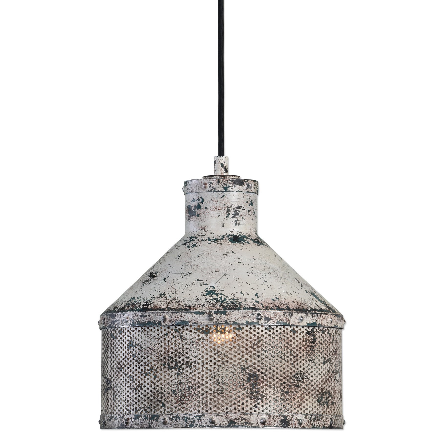 Uttermost Lighting Fixtures Granaio 1 Light Rustic Pendant - Item Number: 22087