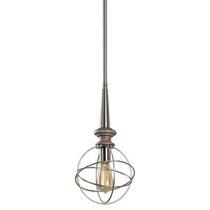 Uttermost Lighting Fixtures  Amira 1 Lt. Mini Pendant