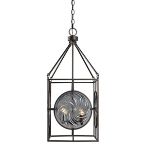 Uttermost Lighting Fixtures  Volute 4 Lt. Pendant
