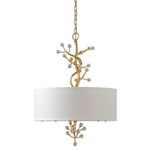 Uttermost Lighting Fixtures  Bede 3 Lt. Pendant