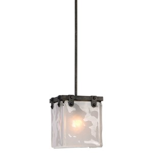 Uttermost Lighting Fixtures Brattleboro Industrial 1 Light Mini Pendant