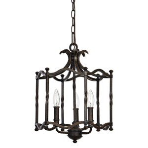 Uttermost Lighting Fixtures Candela Old World 3 Light Pendant
