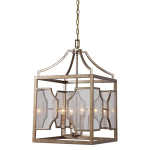 Cates 4 Light Lantern Pendant