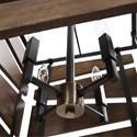 Uttermost Lighting Fixtures - Pendant Lights Augie 4 Light Industrial Pendant