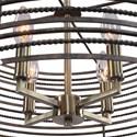 Uttermost Lighting Fixtures - Pendant Lights Braccialetto 4 Light Ring Pendant