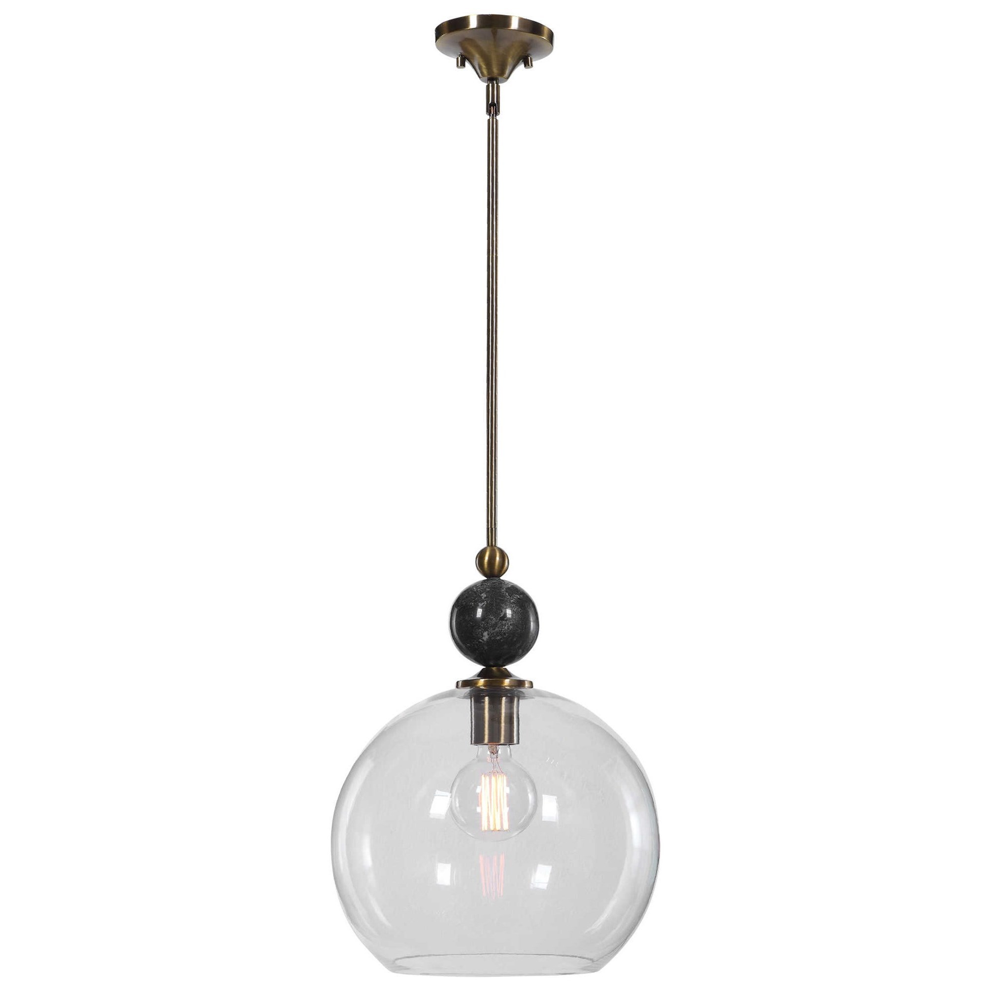 Mendota 1 Light Glass Pendant