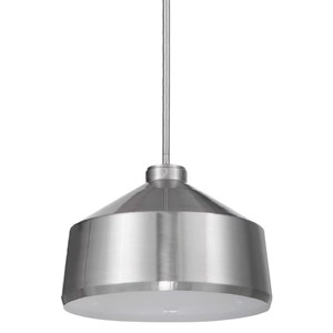Holgate 1 Light Nickel Pendant