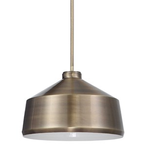 Holgate 1 Light Brass Pendant