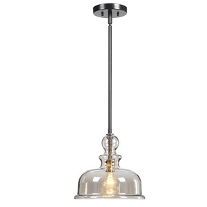 Eaton 1 Light Glass Pendant