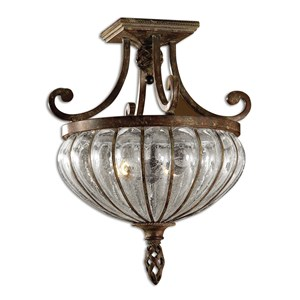 Galeana 2-Light Semi Flush Mount