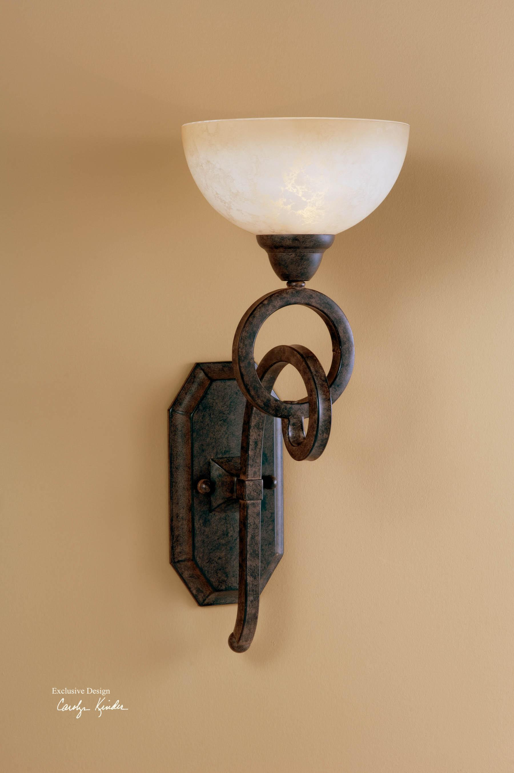 Uttermost Lighting Fixtures Legato Wall Sconce - Item Number: 22430