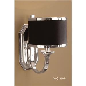 Uttermost Lighting Fixtures Tuxedo Wall Sconce