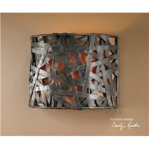 Uttermost Lighting Fixtures Alita 1 Light Wall Sconce