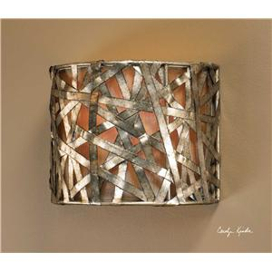 Uttermost Lighting Fixtures Alita Champagne 1 Light Wall Sconce