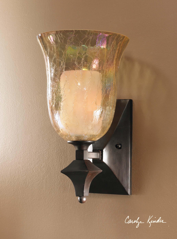 Uttermost Lighting Fixtures Elba 1 Light Wall Sconce - Item Number: 22467