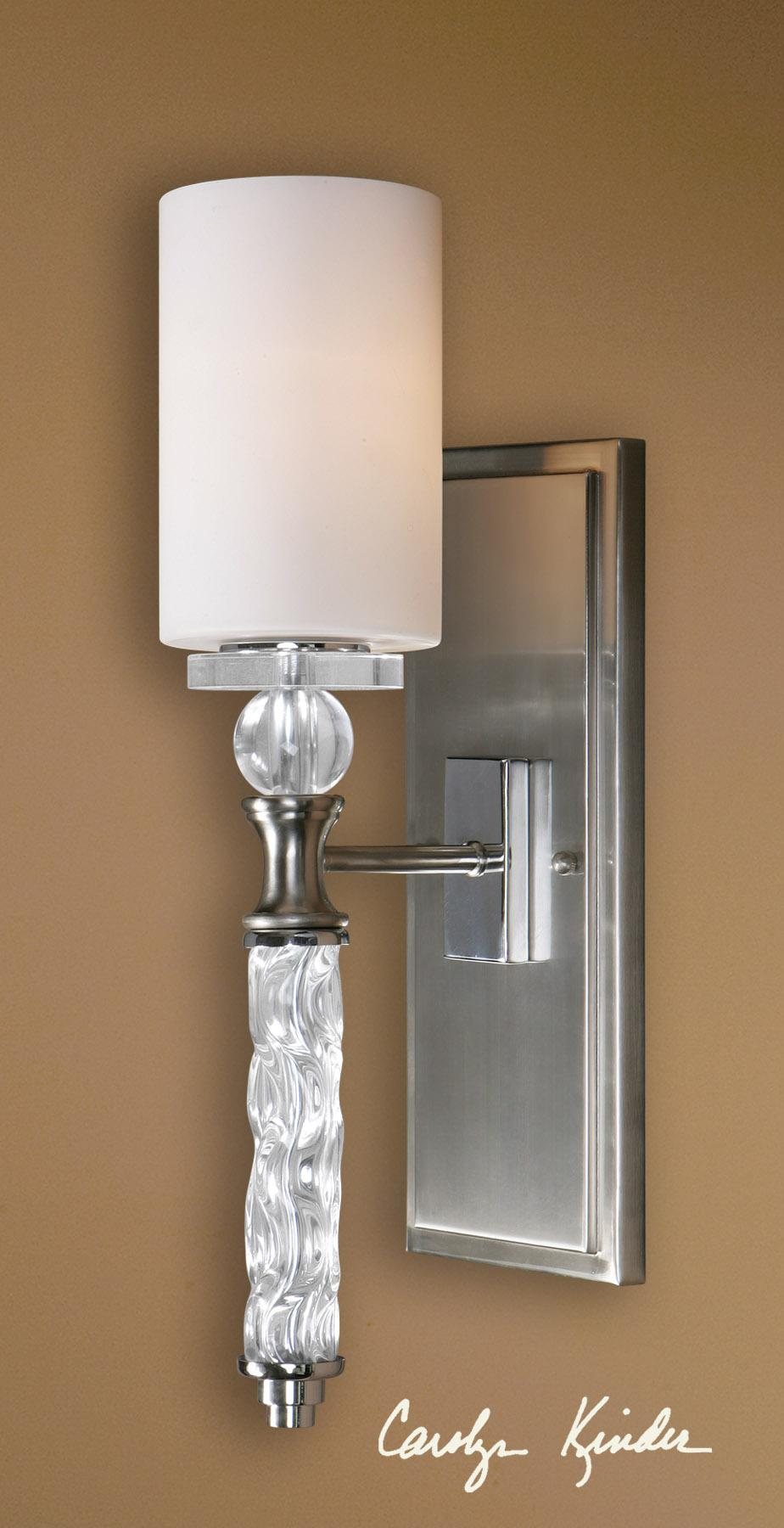 Uttermost Lighting Fixtures Campania 1 Light Wall Sconce - Item Number: 22486