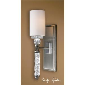 Uttermost Lighting Fixtures Campania 1 Light Wall Sconce
