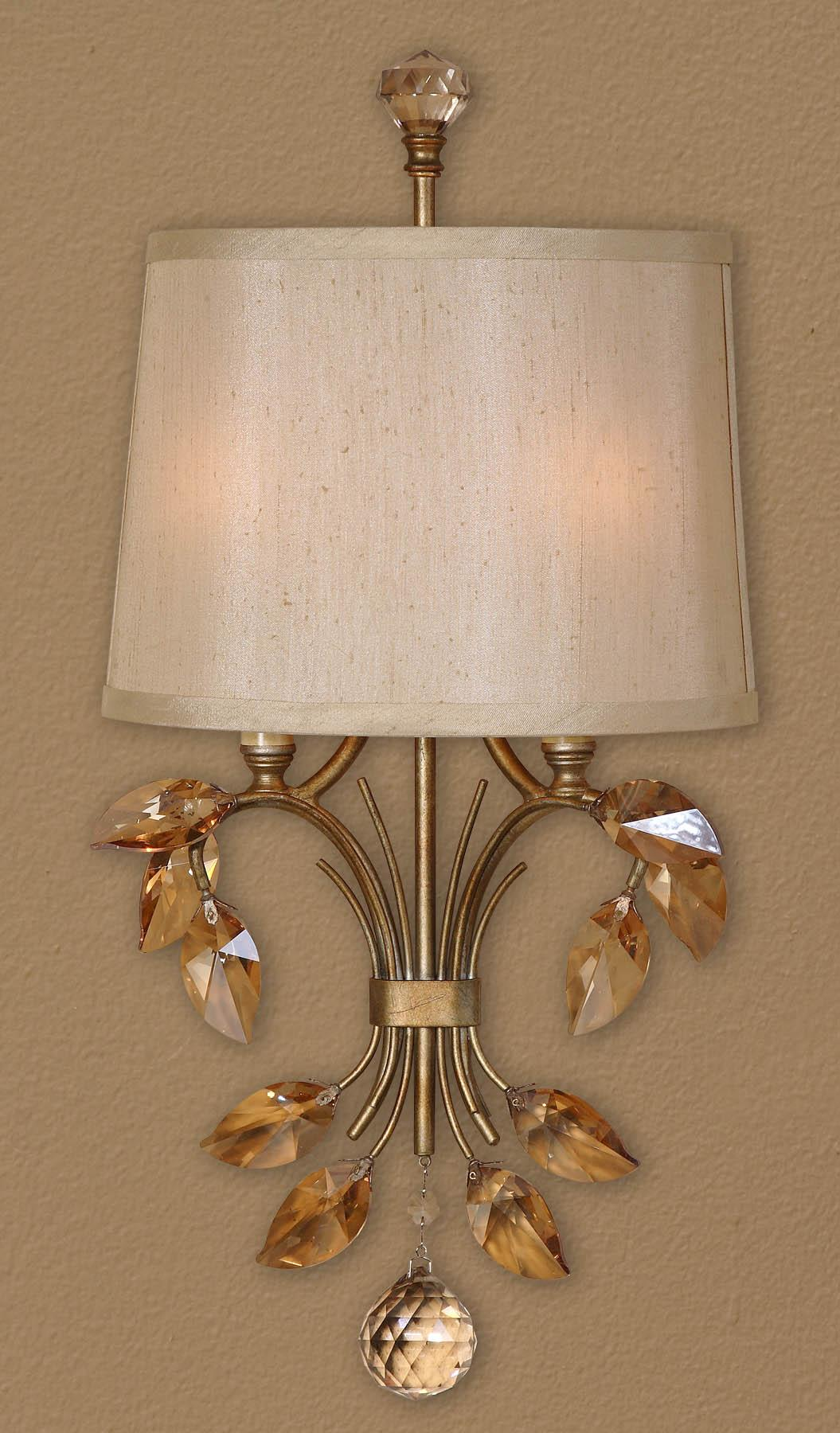 Uttermost Lighting Fixtures Alenya 2 Light Wall Sconce - Item Number: 22487