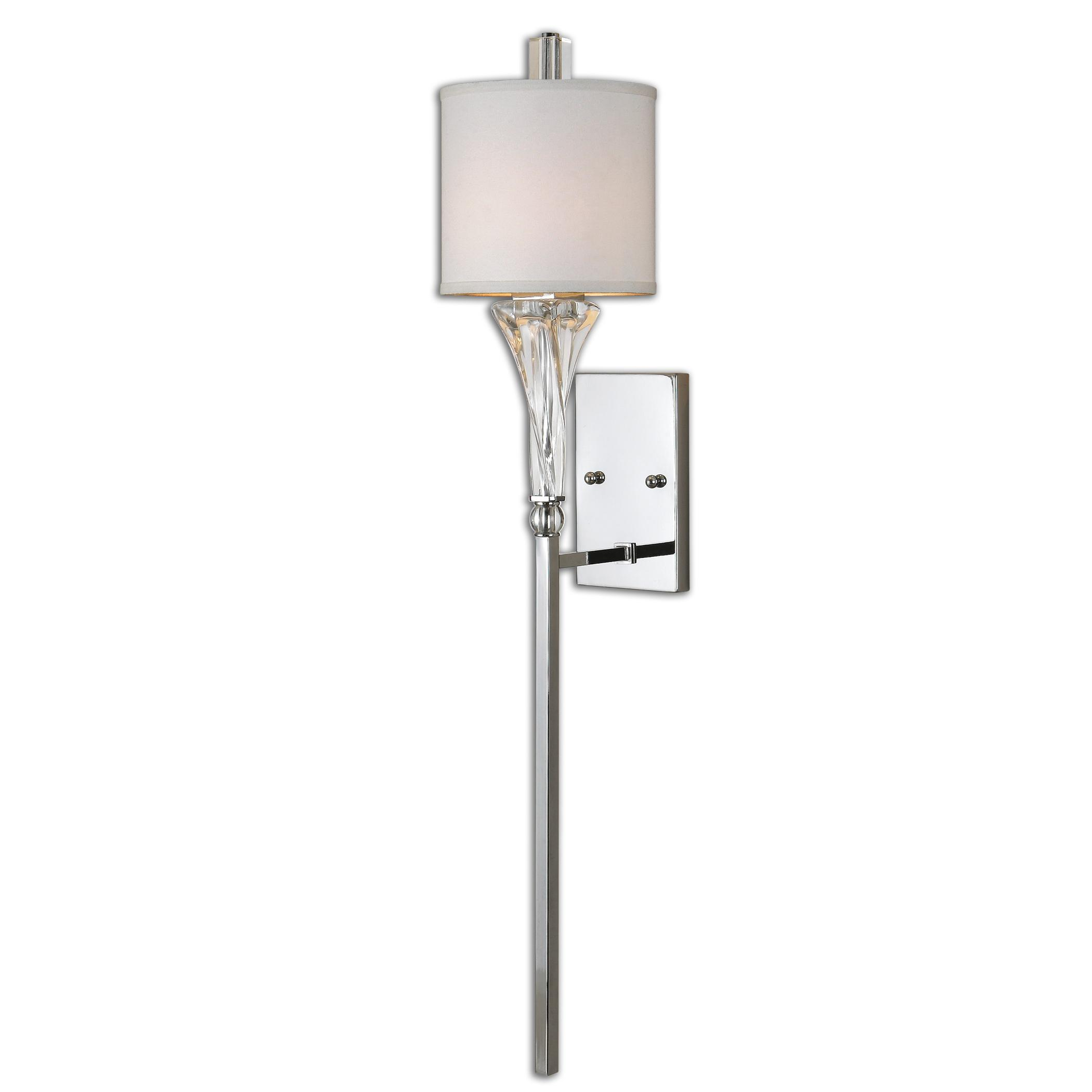 Uttermost Lighting Fixtures Uttermost Grancona 1 Light Chrome Wall Sconc - Item Number: 22495