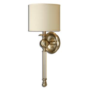 Uttermost Lighting Fixtures Vairano 1 Light Bronze Wall Sconce